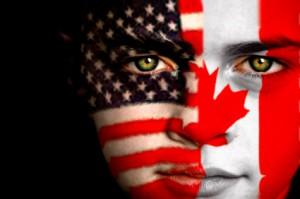 American Canadian boy