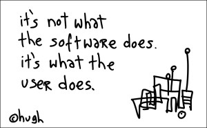 GapingVoid: Its the user