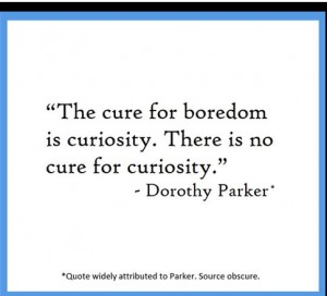 dorothy parker quote  HT Scott Monty