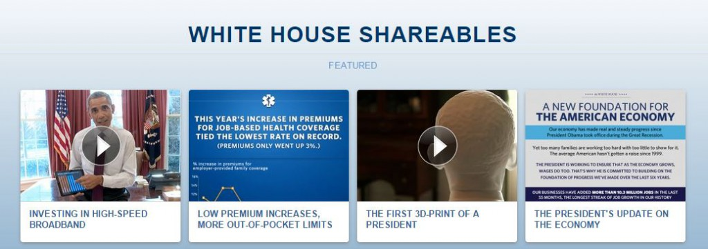 whitehouse shareables